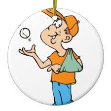 broken arm ornaments keepsake ornaments zazzle