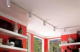 Suspended Track Lighting Track Lighting Drop Ceiling Home Lighting Design