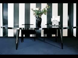 Black Oval Dining Room Table - nella vetrina elle modern italian oval black wood dining tables