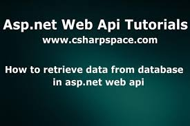 angularjs tutorial with web api how to retrieve data from database in asp net web api tutorial links