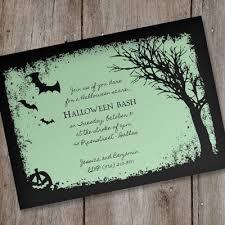 halloween invitations free printable template best template