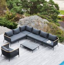 Curved Modular Outdoor Seating by Modular Sofa Contemporary Outdoor Sunbrella Riad Oasiq