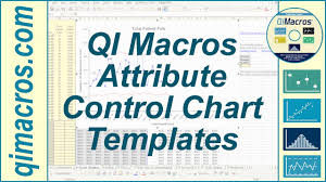 attribute control chart templates in the qi macros for excel youtube