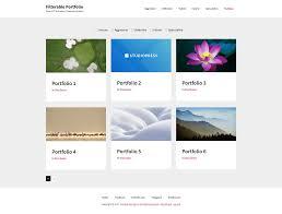 genesis filterable portfolio templates