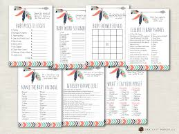 tribal baby shower games tribal shower games adventure