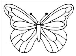 lifetime large butterfly template 13 psd paper templates designs