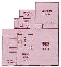 Security Floor Plan 1 2 Bedroom Apartments For Rent In Rochester Ny Little Creek