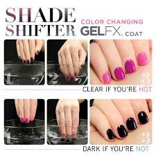 color changing nail polish gel fx shade shifter color changing gel