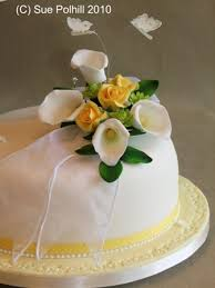 floral wedding cakes from sue polhill wedding and celebration