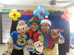 clowns for kids birthday in malaysia allan friends studios comedy ventriloquist show for events allan friends studios