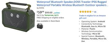 best waterproof bluetooth speakers whatisthebeststuff