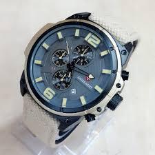 Jam Tangan Casio Chrono jam tangan swiss army kanvas chronograph