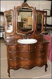 Bathroom Vanity Furniture by Best 25 Antique Bathroom Vanities Ideas On Pinterest Vintage