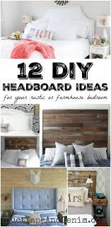 diy headboard ideas 12 diy headboard ideas for your rustic or farmhouse bedroom
