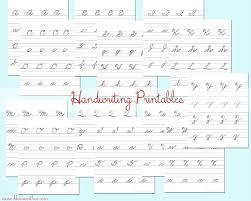 cursive writing worksheets u2013 wallpapercraft