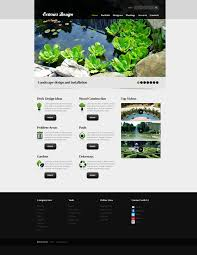 website template 56638 exterior landscape design custom website