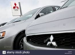 mitsubishi cars mitsubishi cars on a dealer lot in glen burnie maryland on may 8