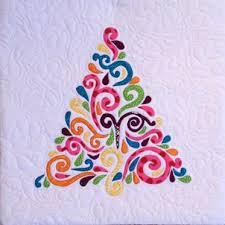 projects from swirled christmas tree quilt pattern craftsy
