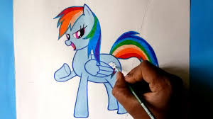 Bad Dragon Drawn My Little Pony Bad Dragon Pencil And In Color Drawn My