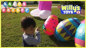 Inflatable Pool Target Giant Easter Bunny And Surprise Egg Shopping At Target Willy U0027s