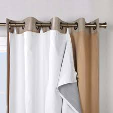 Balloon Drapery Panel Ultimate Liner For Grommet Top Panels Commonwealth Home Fashions