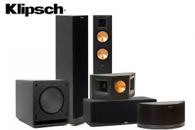 klipsch home theater speakers klipsch rf 42 ii 5 1 home theatre system digital cinema