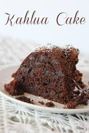 chocolate kahlua cake recipe inspired