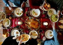 all the world celebrate holidays by gaining weight