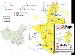 Map Of China Provinces by Ningxia Guide And Map Of Ningxia Province China