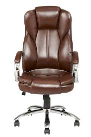 Leather Office Desk Chair High Back Pu Leather Executive Office Desk Task Computer Chair W