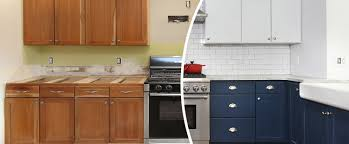 is it better to paint or spray kitchen cabinets cabinet painting brush and roller or sprayer n hance