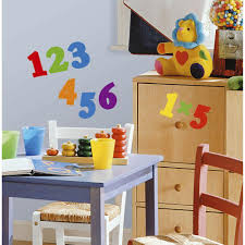 roommates 5 in x 11 5 in numbers primary peel and stick wall numbers primary peel and stick wall decal
