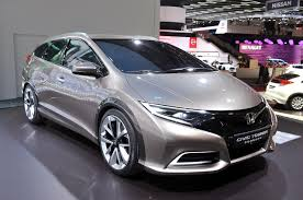 future honda civic honda civic tourer to debut at frankfurt w video