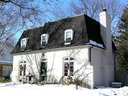 exterior enchanting mansard roof with window treatment ideas and