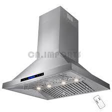 Fireplace Canopy Hood by New 36 U0026 034 Stainless Steel Wall Mount Kitchen Range Hood Modern