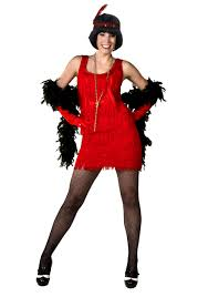 Flapper Halloween Costume Womens Red Size Flapper Costume Flapper Halloween Costumes