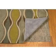 linon home decor rugs linon home decor underlay premier plush grey and multi 12 ft x 59