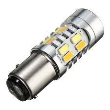 5730 1157 led turn signal light bulb dual color 20 smd switchback