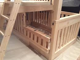 Crib Bunk Bed White Bunk Beds With Crib Diy Projects