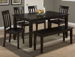 Rectangular Dining Room Table by Espresso 7 Piece 60x42 Rectangular Dining Room Set In Espresso