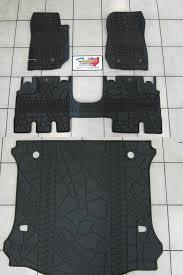 2014 jeep floor mats 2014 jeep wrangler jk unlimited rubber slush floor mat cargo tray