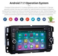 bluetooth radio android 7 1 1 gps navigation system 2007 2011 gmc
