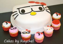 my creative way nerdy hello kitty cake u0026 cupcakes sweet friday