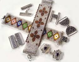 beading bracelet clasps images Bead loom beadweaving looms bead supplies clasps silver jpg