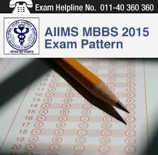 Paper Pattern Of Aiims | aiims mbbs 2015 exam pattern jpg