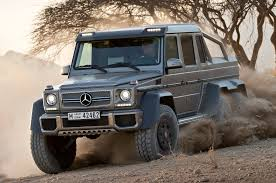 mercedes 6x6 truck mercedes g63 amg 6x6 to cost 600 000 in germany