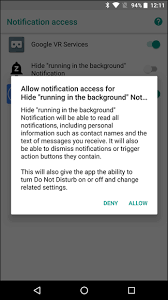 disable app android 3 ways to disable app is running in the background notification
