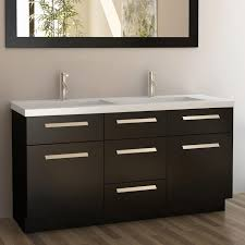 All Wood Bathroom Vanities by Element J60 Ds Moscony 60 In Double Sink Bathroom Vanity Atg