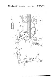 patent us3922855 hydraulic circuitry for an excavator google