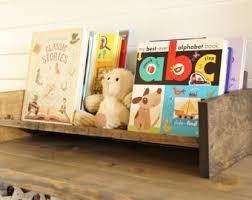 nursery bookcase etsy